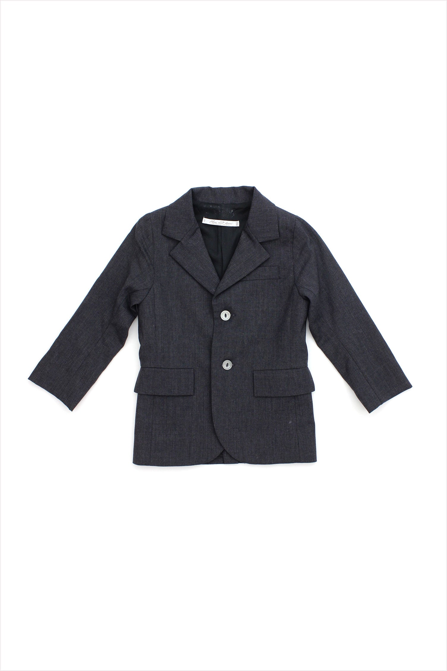 Sample Sale Dress Jacket 4year Charcoal
