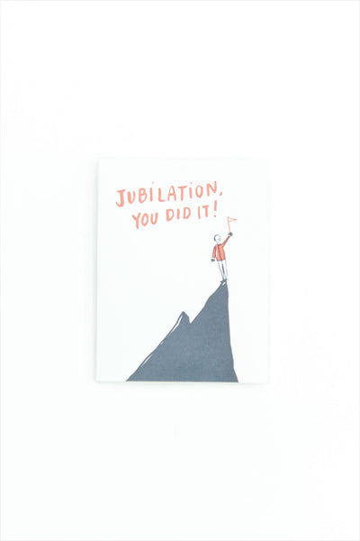 Jubilation Encouragement Card