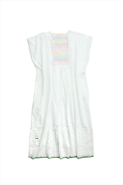 Injiri Muslin Dress 26 White