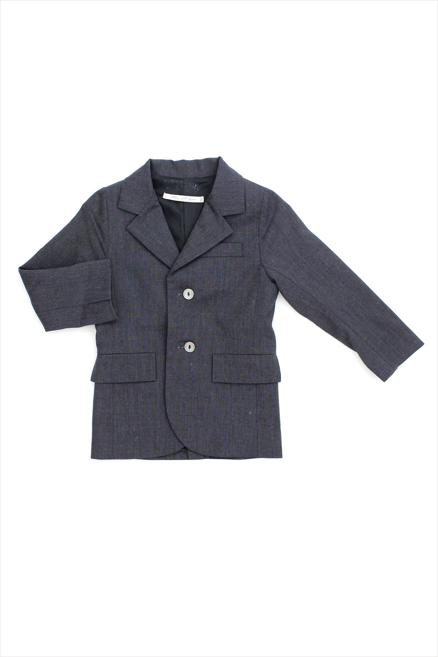 Sample Sale Dress Jacket 6year Charcoal