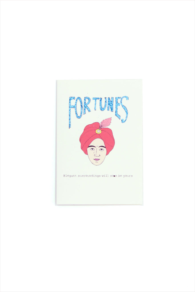 Fortunes Card - Elegant Surroundings