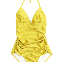 F&H Sardinia Swimsuit Gold