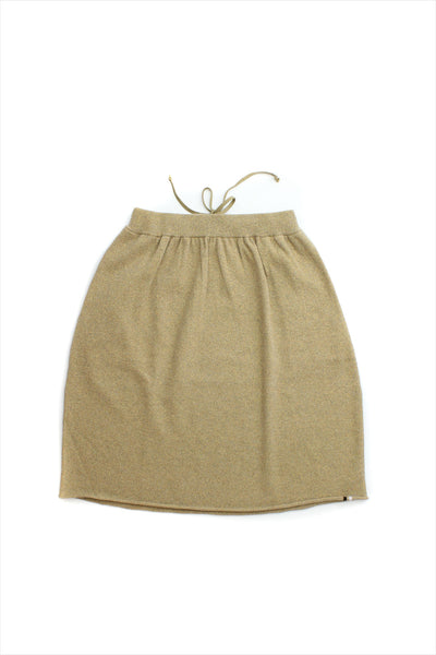 Extreme Cashmere Fifty Skirt Gold Lurex