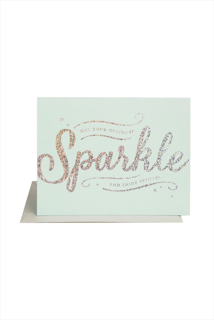 Sparkle And Shine Card