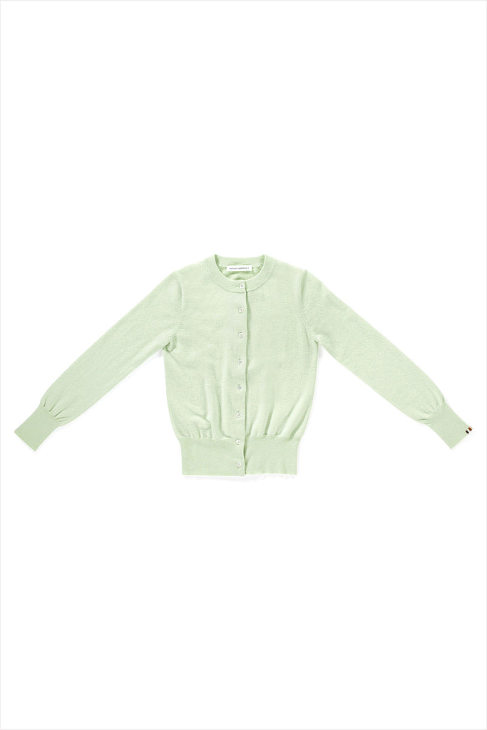 Extreme Cashmere n°94 Little Cardigan Lime