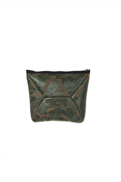 X-Pouch Clutch Metallic Camo