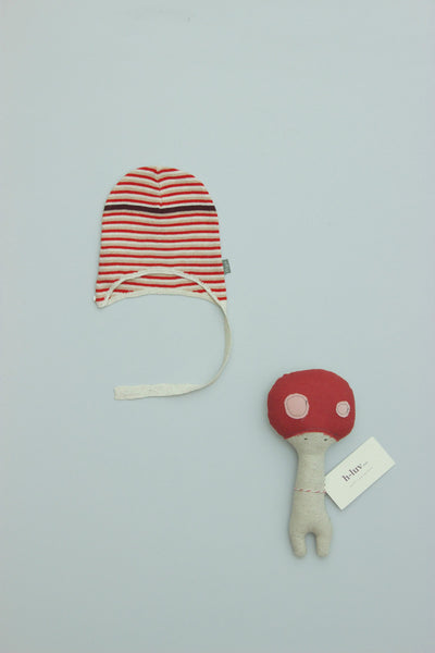 Kidscase Wayne Hat Buff/Red/Off-White