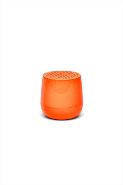 Mino Bluetooth Speaker Orange Fluorescent