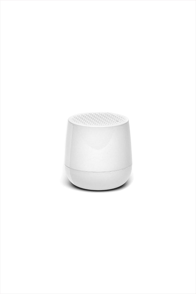 Mino Bluetooth Speaker White Gloss