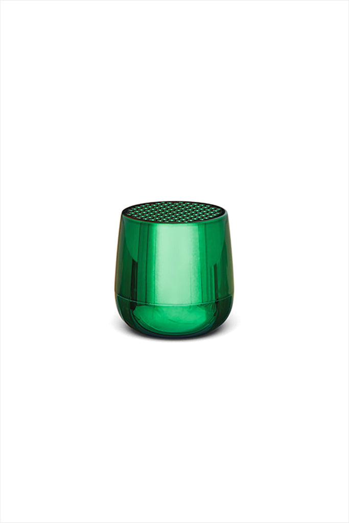 Mino Bluetooth Speaker Metallic Green
