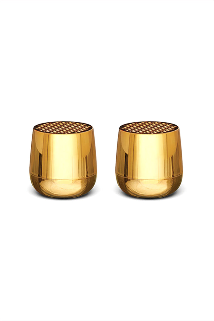 Twins Mino Bluetooth Speaker Metallic Gold