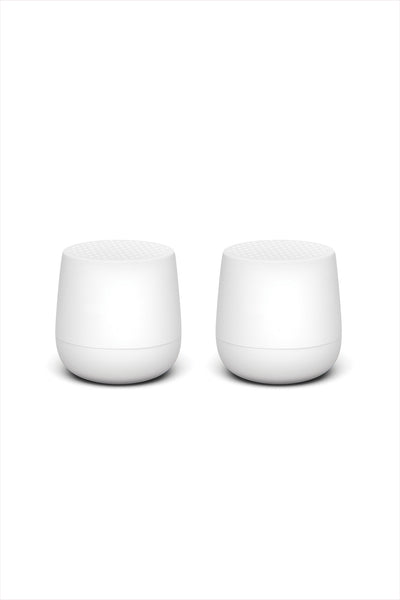 Twins Mino Bluetooth Speaker Matte White