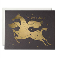 Star Horse Friendship Card