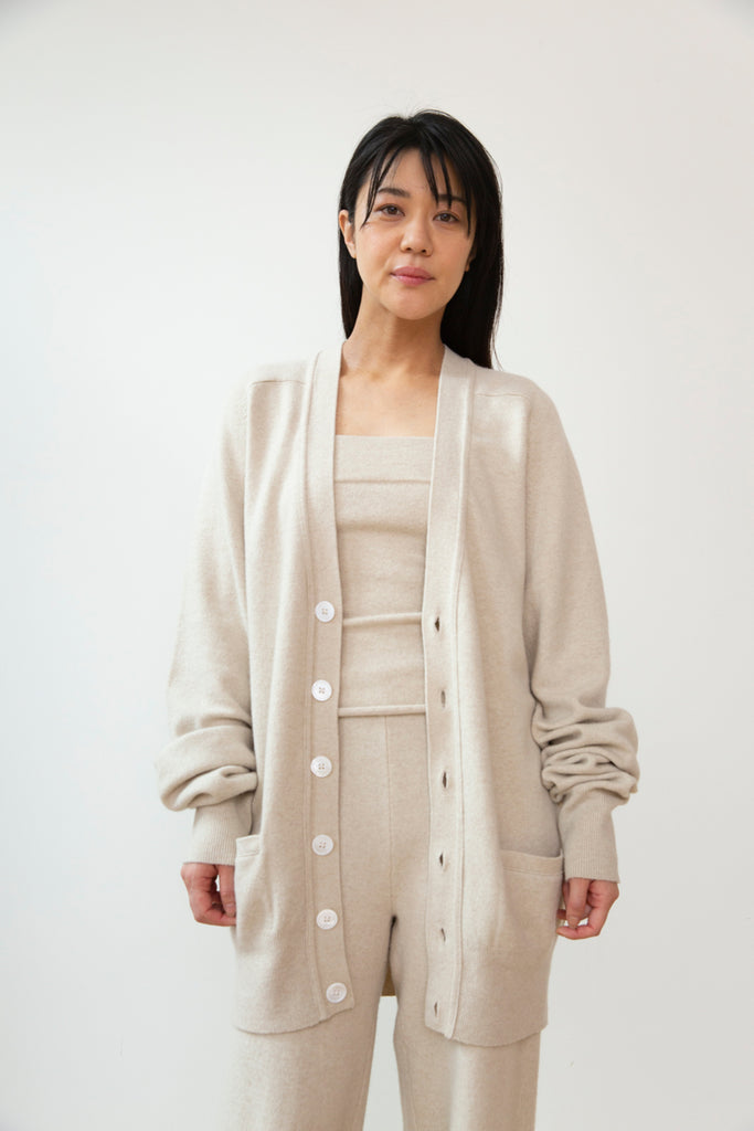 Extreme Cashmere n°117 Cardigan Latte