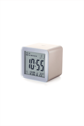 Cube Sensor Clock Soft Gold