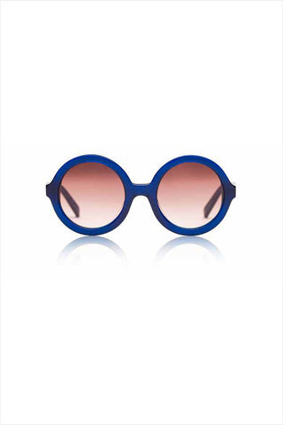 Lenny Navy Sunglasses