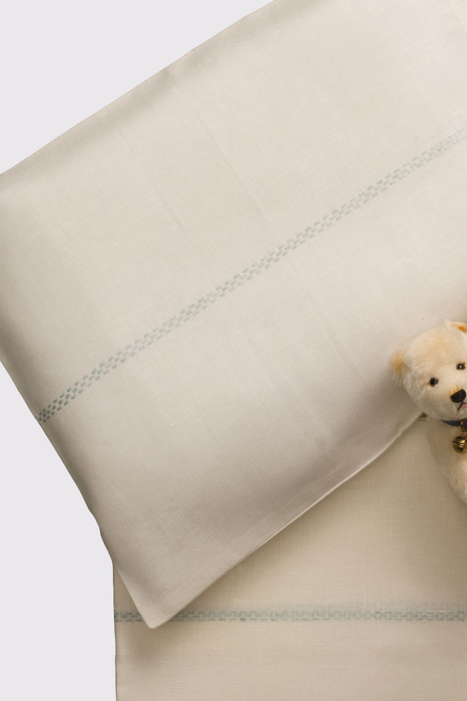 Linen Bassinet Sheet Set