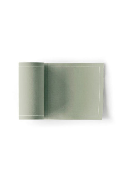 Cotton Cocktail Napkin Roll Water Green