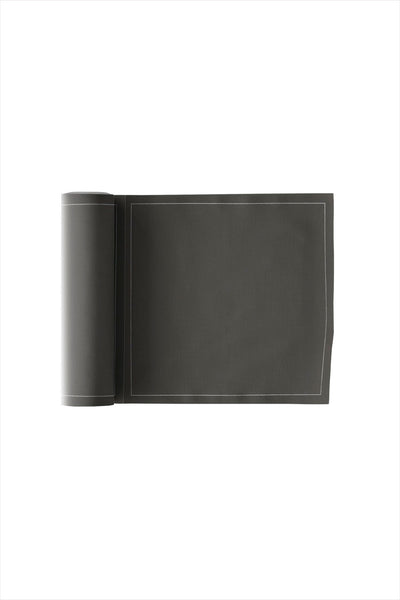 Cotton Cocktail Napkin Roll Anthracite Grey