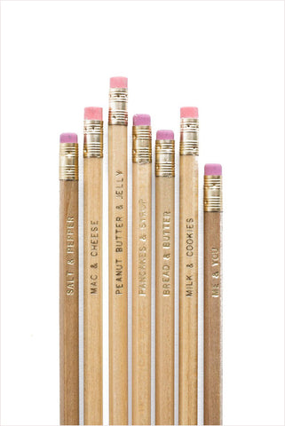 Me & You Pencils - US Set