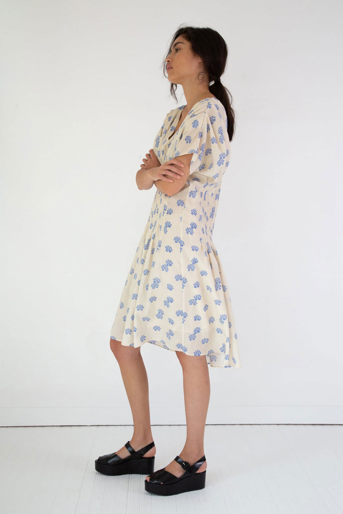 Caron Callahan Naomi Dress Shibori