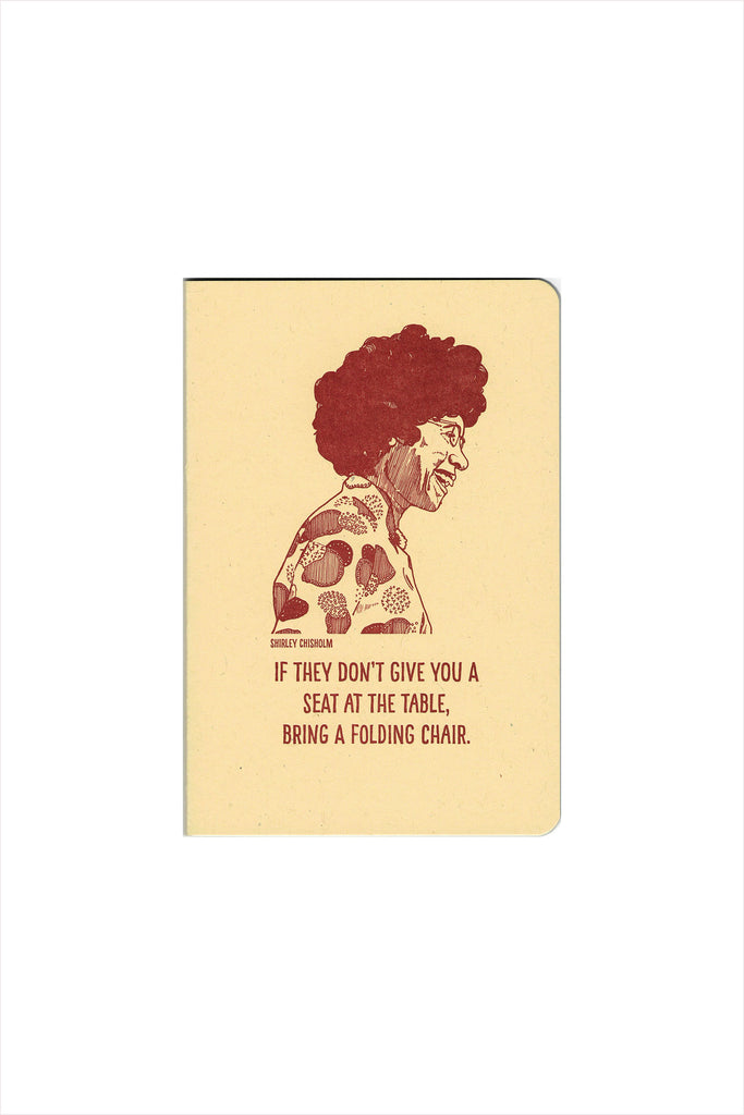 Shirley Chisholm Notebook