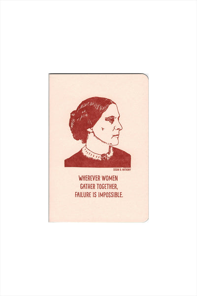 Susan B Anthony Notebook
