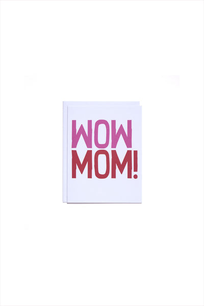 WOW MOM Card