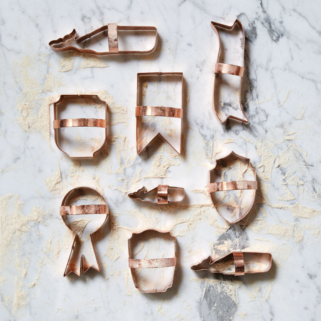 Shield Cookie Cutter Set