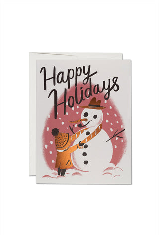 My Friend The Snowman Card