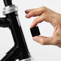 Magnetic Bike Lights Black