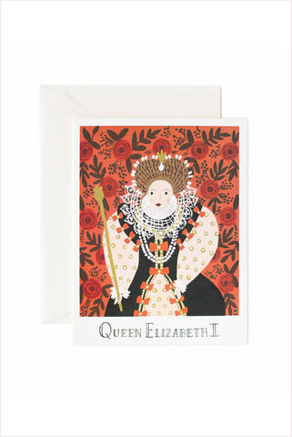 Queen Elizabeth Card