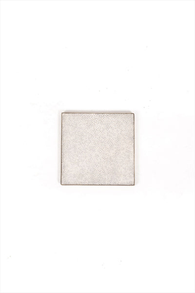 Queen Coaster Natural Shagreen And Bronze