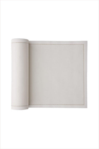 Cotton Cocktail Napkin Roll Ecru