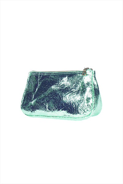 Tracey Tanner Fatty Small Pouch Foil Mint