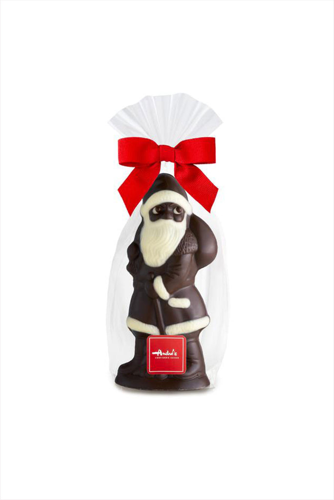 Andres Molded Dark Chocolate Santa