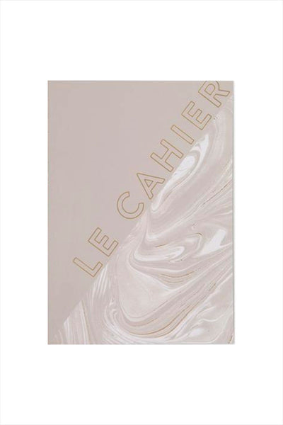 Le Cahier Grey Marble Foil Notebook