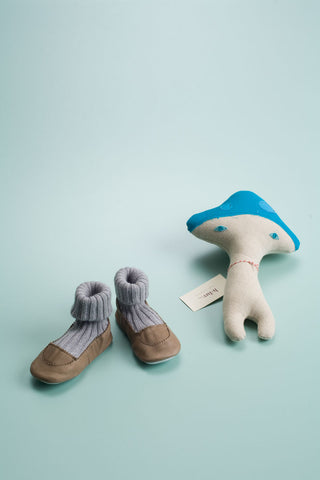 Slipper Sock Beige