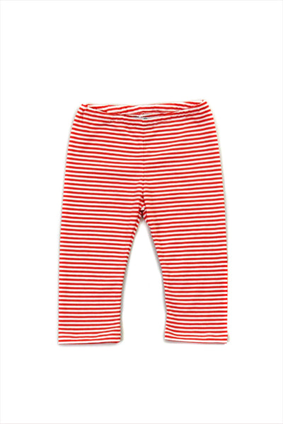 Striped Legging Persimmon