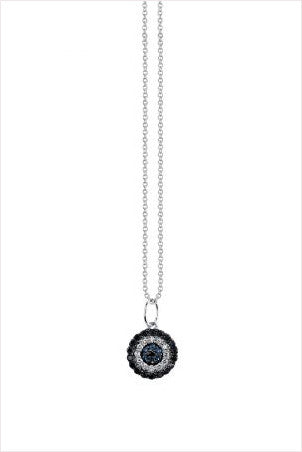 Open Eye Medallion Necklace