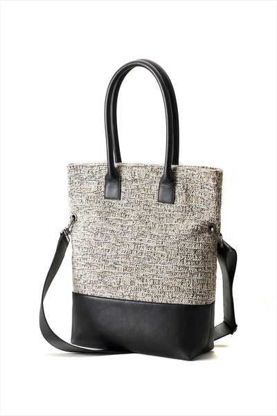 Adam Glant Milano Bag Taupe Bone Black
