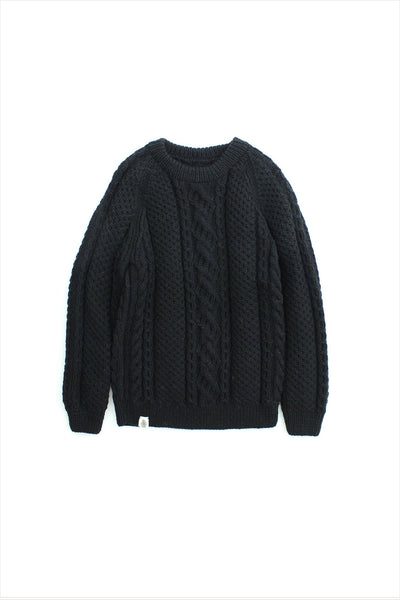 Boyfriend Sweater Black