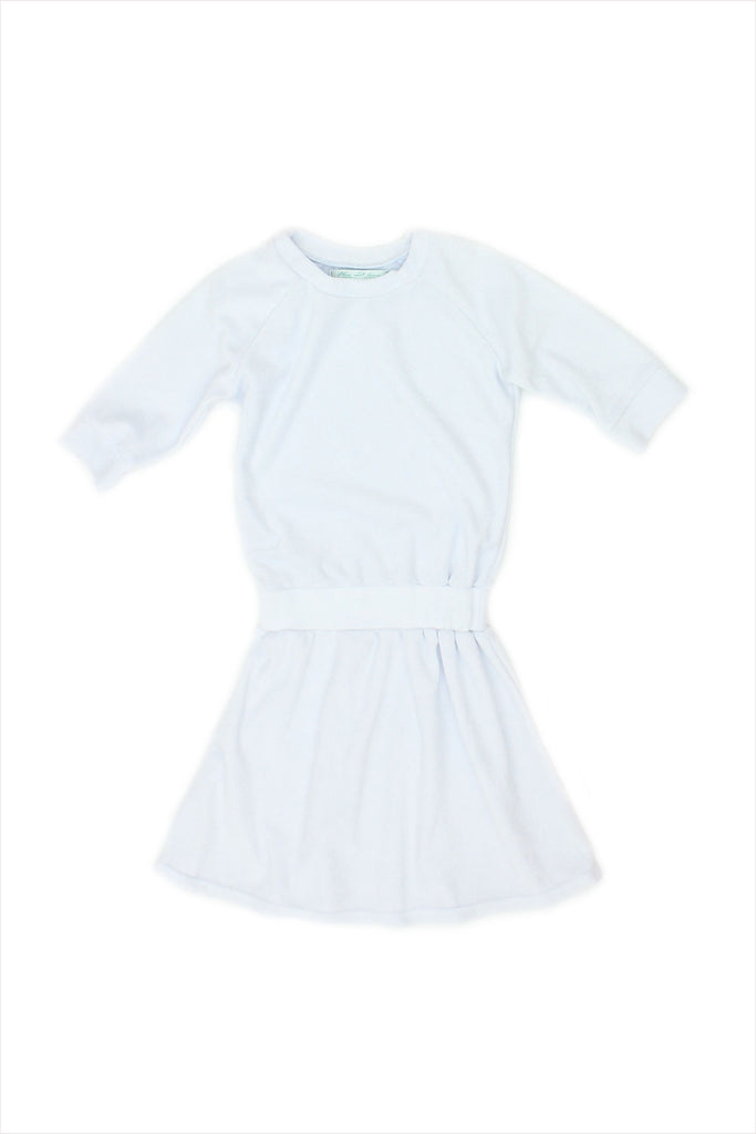Sample Sale Terry Dress 4year Pale Blue
