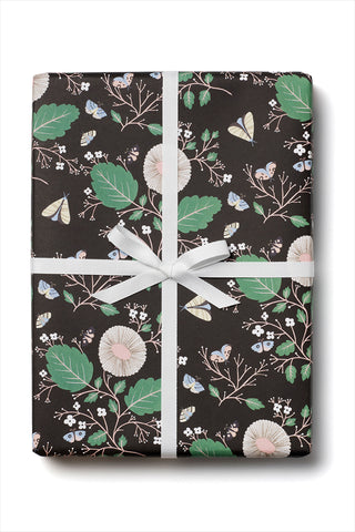 Moth Magic Wrapping Papper Sheets