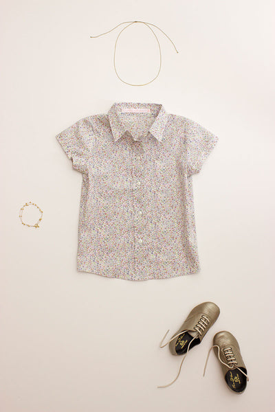 Liberty Print School Blouse