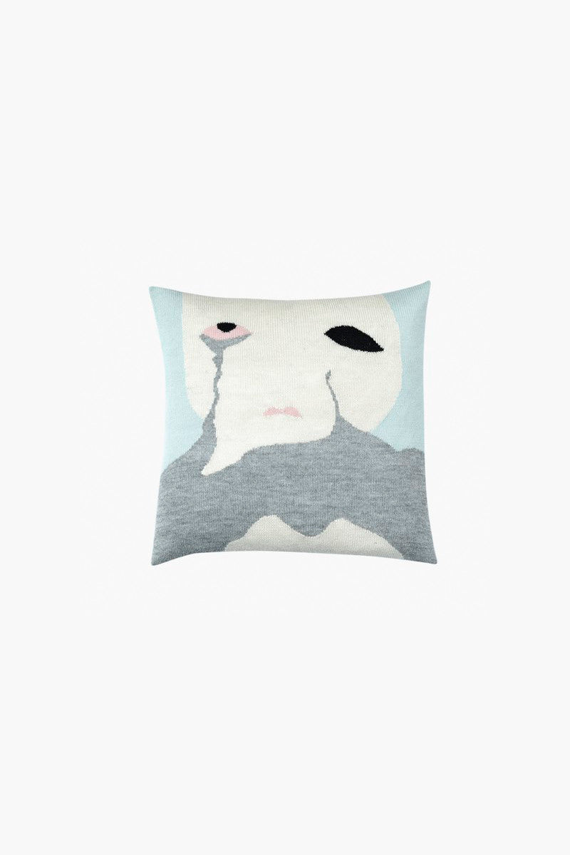 Cry Baby Pillow Case Mint