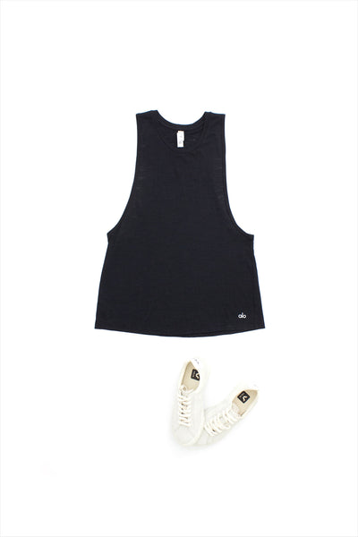 Alo Yoga Breeze Tank Black