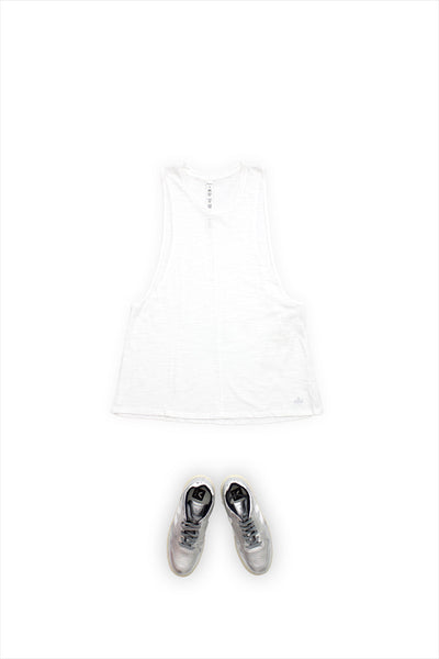 Alo Yoga Breeze Tank White