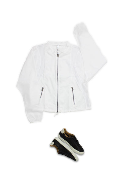 Alo Yoga Sunset Jacket White