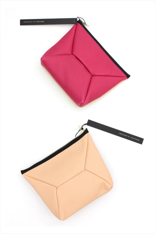 X-Pouch Clutch Canteloup